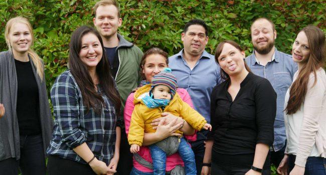Gruppenfoto LivTox schaut komisch