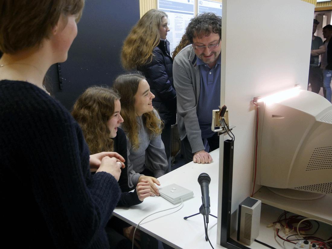In den Räumen der Dortmunder Vital-Studie.