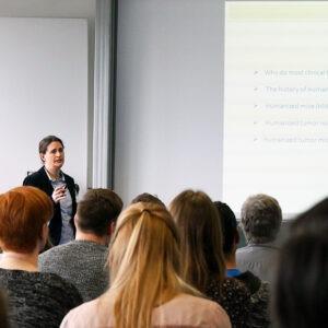 """Dr. Anja K. Wege (Uni Regensburg) """"Humanisierte Tiermodelle in der translationalen Forschung"""""""