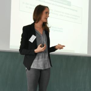 Arbeitspsychologin Anne-Kathrin Konze.