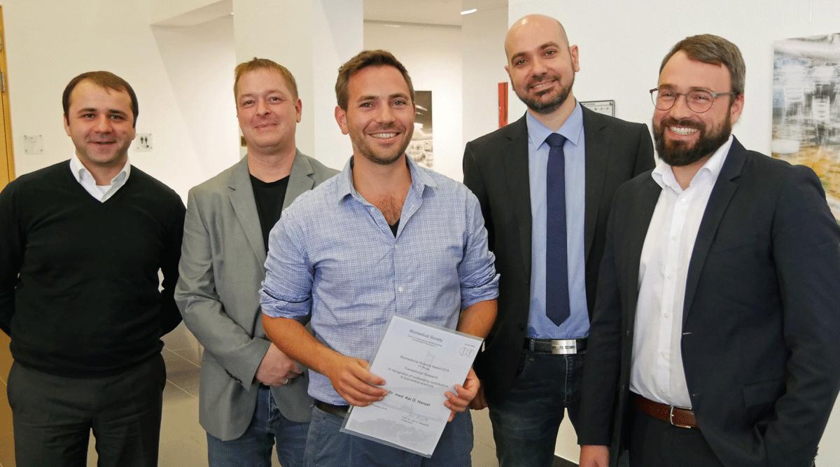 Biomedizin-Förderpreis Preisträger und Ausgezeichnete.