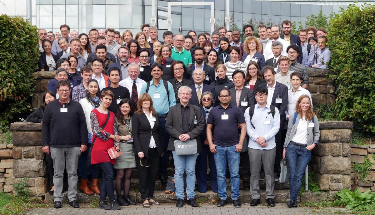 Gruppenfoto während der Konferenz
