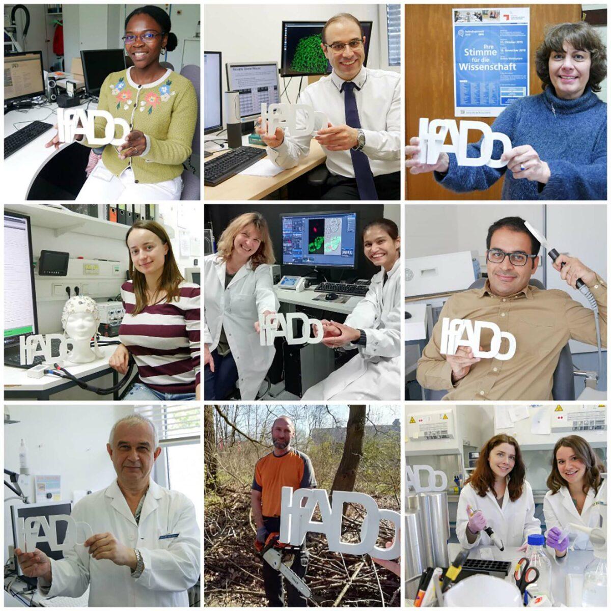 Collage Mitarbeiter ifADo