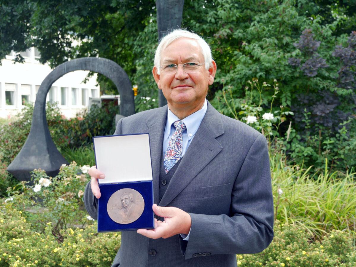 Matthias Jäger mit Joseph-Rutenfranz-Medaille